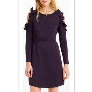 Club Monaco Teodora Cold Shoulder Dress - Size 4